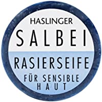 HASLINGER Salbei Rasierseife, 60 g