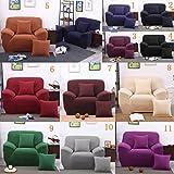 Magideal Spandex Stretch Single Sofa Couch Seat Cover Slipcover Case Home Decor Black