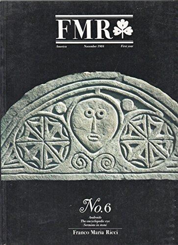 FMR, the Magazine of Franco Maria Ricci - No. 6, November 1984 - Engish Edition