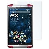 atFolix Schutzfolie kompatibel mit Acer Predator 8 GT-810 Panzerfolie, ultraklare & stoßdämpfende FX Folie (2X)