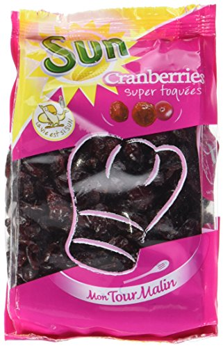 SUN Cranberries mon Tour Malin 200 g - Lot de 6