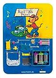 Rizzy`s Music-Box, Bausatz mit 4 Melodienwalzen und Anleitung (auf Blisterkarte)