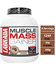 Labrada Muscle Mass Gainer - 3 kg (Chocolate)