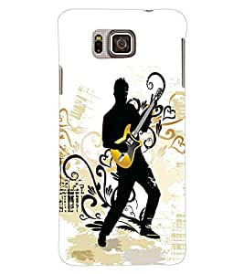 Colourcraft Music Wallpaper Back Case Cover For Samsung Galaxy Alpha G850