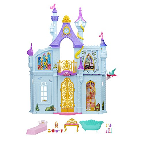 1 Princess Royal Dreams Castle, Rosa, Violett, Blau (Disney Verbundenen Kostüme)