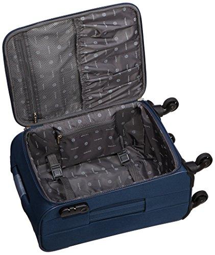 Travelite Orlando 4 W Trolley S, 98547-20 Koffer, 54 cm, 35 Liter, Marine - 5
