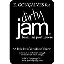 dirty.JAM flashcards: brazilian portuguese (Portuguese Edition)