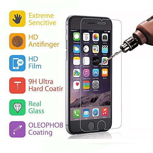 frixie (TM) per iPhone 7/7Plus TPU custodia protettiva con supporto + vetro temperato antiurto posteriore trasparente con clip oro rosa 4.75.5 Rose Gold Iphone 7 Plus Rose Gold Iphone 7