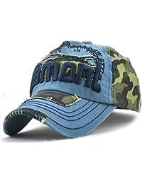 Yooeen Gorras de béisbol Mujer Hombre Ajustable Gorra de Beisbol Clásico  Camuflaje Gorra Militar Gorras Algodón 8c0c78b5a8e
