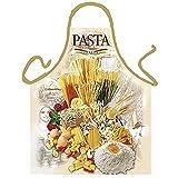 Art & Fun Italienische Schürze - Pasta Italia - Kochschürze Nudeln - mit Urkunde