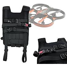 DURAGADGET Mochila / Arnés ajustable para tranporte de Dron LAMASTON X5C-1 / Maxbo X8 Explorers / NINCOAIR EVO / Onchoice H8C / Parrot Bebop 2 Explorer