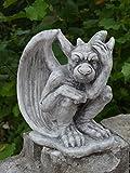 Herrlicher Gargoyle Torwächter aus Steinguss, frostfest