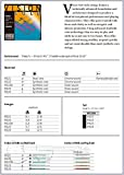 Cordes Thomastik Infeld Alto Vision Solo Noyau synthétique;Jeu(VIS21, VIS22, VIS23, VIS24); VIS200