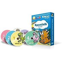 DVD de aprendizaje del Español para niños