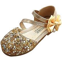 best service d3929 57e3a Amazon.it: scarpe bambina cerimonia - Oro