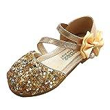 LEXUPE Baby Schuhe Kleinkind Kinder MäDchen Mode Prinzessin Dance Leder Casual Einzelne Schuhe