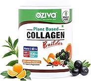 OZiva Plant Based Collagen Builder for Anti-Aging Beauty, Skin Repair & Regeneration (Classic-2