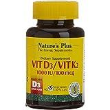 NATURE'S PLUS - VIT. D3 + K2 90cáp. N.PLUS