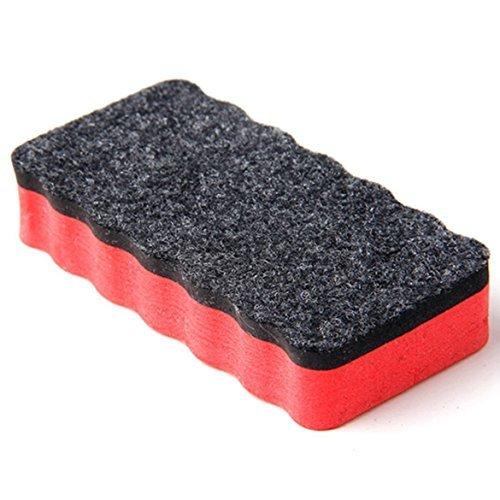 nicebuty Bürste Stempel Tintenkiller-Tabelle für Whiteboard Magnettafel, trocken nettoiement effizient und Magnetic White Board DRY WIPE DRYWIPE Cleaner Eraser zufällige Farbe