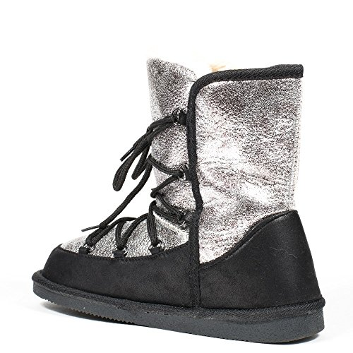 Schwarz ShoesDamen Ideal ShoesDamen Stiefeletten Schwarz Stiefeletten Stiefel Stiefel Ideal sdQCthr