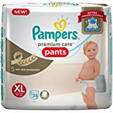 Pampers Premium Care Extra Large Size Diapers Pants (28 Count)
