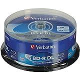 Verbatim Blu-Ray BD-R DL 98356 50GB 6 X 25 Pack Spindle