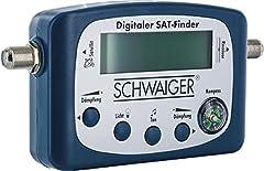 SCHWAIGER -5170- SAT-Finder digital Satellitenerkennung Satelliten-Finder mit