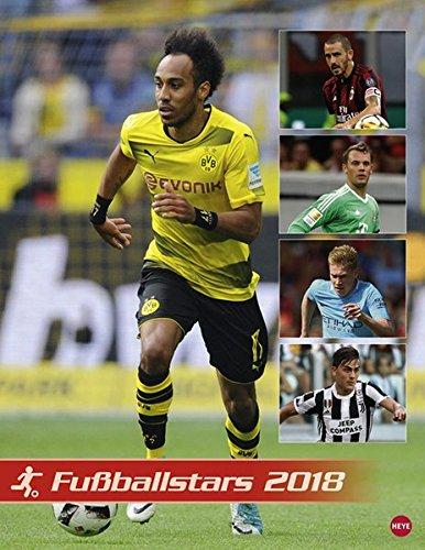 Fußball Superstars Posterkalender - Kalender 2018