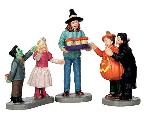 Lemax - Tasty Treats - 3er Set - Spooky Town - Polyresin - Figuren & Zubehör für Halloween