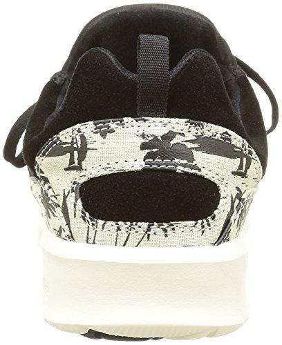 DC Shoes Heathrow Se M, Sneaker Uomo Nero (Noir (Black/White Print))