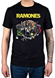 Official Ramones Road to Ruin T-Shirt Presidential Seal Brain CBGB Hey Ho Vintage Wings
