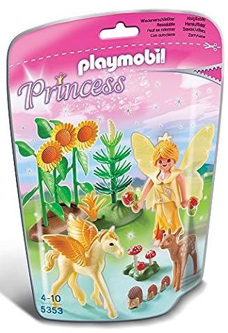 Playmobil - 5353 - Fée de la Forêt avec bébé Pegasus Poussière d