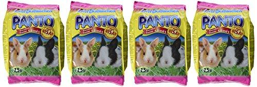 Panto Zwergkaninchenfutter 2.5 kg, 4er Pack (4 x 2.5 kg) - 2