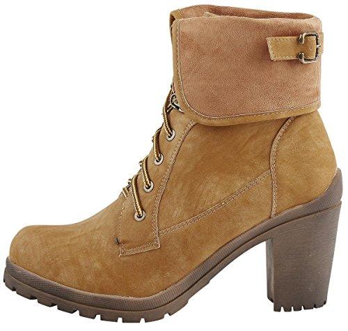 Refresh 63060 Femme Boots Fauve Fauve