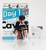 London 2012 Lord Sebastian Seb Coe Firmado a Mano Programa Olímpico+Oficial COA