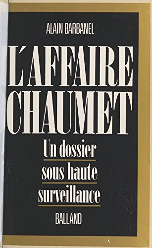 laffaire-chaumet-french-edition