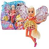 Winx Club Stella   Cosmix Fairy Puppe beweglichen holografischen Flügeln