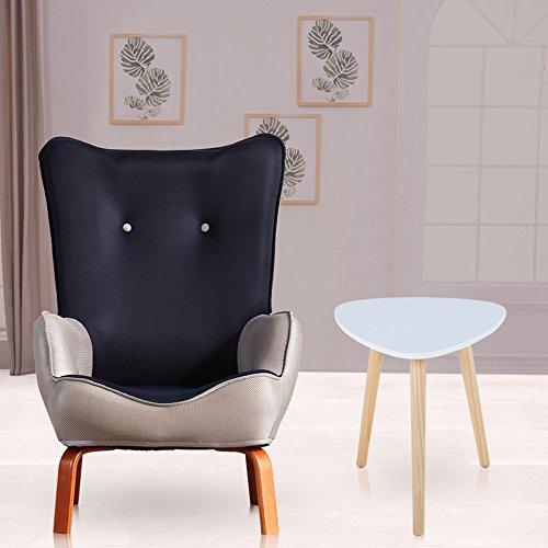 DEO Bureau d'ordinateur Enfants enfants avec chaise en tissu fauteuil canapé siège tabouret durable (Couleur : Bleu marin, taille : Chair and table)