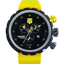 TechnoSport Herren Chrono Uhr - BOLD schwarz / lime