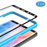 TAMOWA [2 Stück] für Panzerglas für Samsung Galaxy Note 9, 3D Abger&ete Panzerglasfolie 9H Härte für Panzerglas Schutzfolie mit Positionierhilfe, Anti-Kratzen, Anti-Öl, Anti-Bläschen (Schwarz)