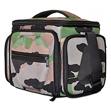 Fitmark THE Shield Camo The Diet And Meal Management Bag Fitness Food Bodybuilding Gym 6 Pack Insulated Managemnt Amazonin Sports