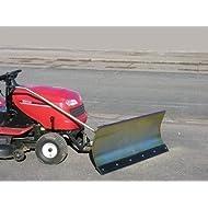 Husqvarna cth135verzinktes neve Scudo 118x 50cm per prato traktore ID 2196