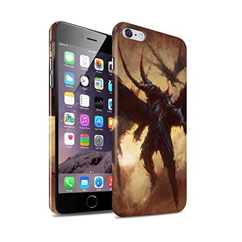 Offiziell Chris Cold Hülle / Glanz Snap-On Case für Apple iPhone 6S+/Plus / Herzensucher Muster / Wilden Kreaturen Kollektion Flügel von Nox