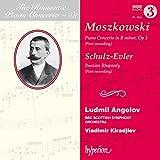 Moszkowski:Piano Concerto [Ludmil Angelov; BBC Scottish Symphony Orchestra , Vladimir Kiradjiev] [HYPERION : CDA68109]