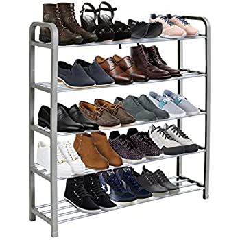 Home Kitchen Hallway Furniture Acornfort S 502 4 Tiers Adjustable Shoe Storage Shoe Rack Organiser Shelf Hold Stand For 12 Pairs Shoe 2019 New Upgrade Sturdy Design Space Saving Easy Assemble Kubicolab It