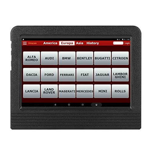 LAUNCH X431 V+ (Pro3) OBD2 EOBD Diagnosegerät Diagnose Werkzeuge WiFi Bluetooth Android Full System OBD2 Scanner Scann-Tool und 10.1