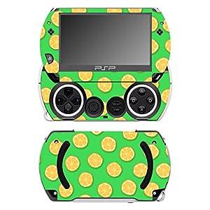 Disagu SF-14232_1074 Design Folie für Sony PSP Go – Motiv Orangen grün transparent