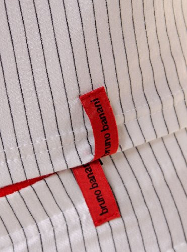 BB Straight Line Sport Shirt White-Black
