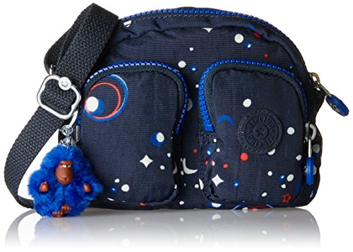 Kipling - Kalipe, Borse a tracolla Donna Multicolore (Galaxy Party)