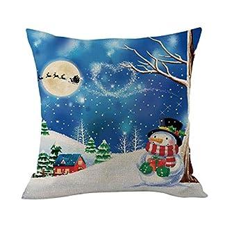 adeshop christmas cushion cover, xmas tree decorations, merry christmas cushion cover square pillow case home decor ADESHOP Christmas Cushion Cover, Xmas Tree Decorations, Merry Christmas Cushion Cover Square Pillow Case Home Decor 51IbUdxdk L